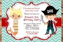 Parker & Riley's 1st Birthday / Pirate & Mermaid Birthday