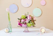 Spring, pastel styled shoot