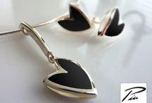 Jewelry / Own jewelry, silver, gold, diamond, enamel