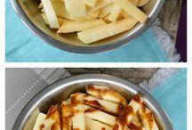 Low carb vegie fries