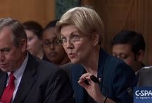 "This is the Action & Scrutiny Required RIGHT NOW! / Too often those at the ""top"" squirm away from being put under real interrogation - too often highly paid advisers are employed to generate ""smokescreens"" - too often those sitting on panels find reasons to shutdown sound argument. WATCH ELIZABETH WARREN ROASTING CEO - BRAVO - the right person at the right time to bring real change!"