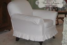 Slipcovers By Belle Aimee / Portfolio of our custom slipcovers