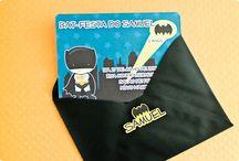 Festas Batman - Bat-festa / Papelaria produzida pela Tuty com o tema Batman, ou Bat-festa.