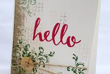 Stampin' Up! Timeless Textures / Card ideas