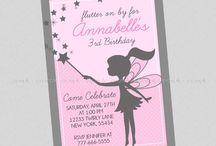 Fairy uitnodigings