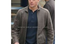 Matt Damon Bourne Brown Leather Jacket / Get this classic Jason Bourne Brown Leather Jacket at most discounted price from Sky-Seller and avail free Shipping.