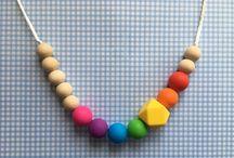 My nursing necklaces