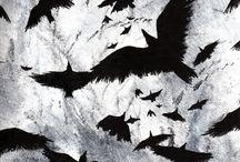 Dibujar Cuervos