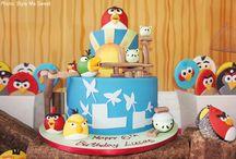 Angry Birds....Aaaaawwwk!  Oink!
