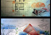 Sketsa arsitek