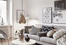 Scandinavian interiors / The best of Scandinavian interiors and how to create the perfect look in your home.
