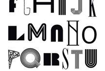 Fonts / Tipografías