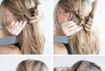 saçlar okul için.