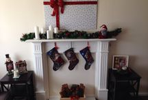 Home / Faux fireplace
