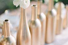 flaskor och burkar