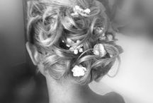 Bridal Hairstyles / Our bridal collection is truly unique as each design is one of a kind, simply because you are one of a kind. We listen to your needs and guide you in expressing how you want to feel in your gown on your special day.  Because if you feel great, you will look great. Let's design your wedding dress together! x