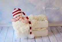 Newborn Christmas Photography