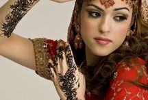 India Makeup & jewelry / by Sara Ford