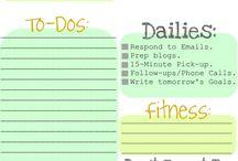 Organization - Daily Sanity / by Tiffany Marshall