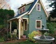 Tiny Houses I would like to live in. / Downsizing to a tiny house can be liberating and fun. / by Laurie Rohner Studio