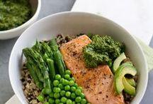 healthy grain bowls