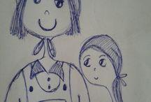 I miei sketches / Schizzi disegni