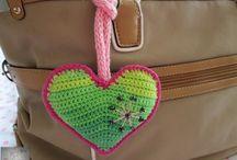 Crochet - Horgolás (heart-szív)