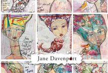 ARTISTE Jane Davenporte