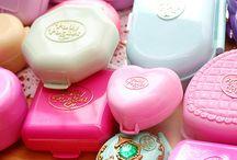 90s / 90s stuff, pink, glitter, 90s,