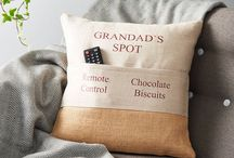 PERSONALISED CUSHIONS / Our Personalised products create perfect gifts for family, friends and also add that extra touch for anyone buying for themselves.  All our Personalised Gifts are Handmade with quality textiles sourced locally in the UK & Ireland.