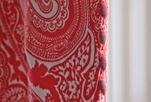 Patterns / Curtains, cushions and blinds made with patterned fabrics - ours and others