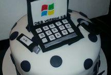 Számítógépes torták
