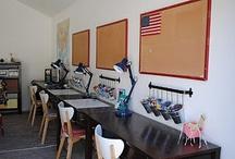 Homeschool room  / by Amber Cornell