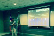 Magister en Psicología Educacional mención Inteligencia Creatividad & Talento / Fotos de la defensa y ceremonia de la obtención del Magister en la UST, diciembre 2014.