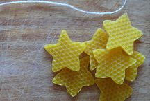 bijenwas en klei