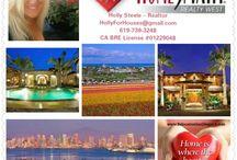 San Diego Real Estate / #HomesforsaleSanDiego #SanDiegoRealEstate