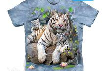 Camisetas de tigres.