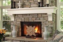 Fireplace Ideas / Pomysły na kominek / Pomysły na kominek w domowym zaciszu. Fireplace inspiration and ideas.
