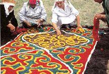 Tamgalar, İmler / Eski Türk tamgaları, imleri, yazıları, desenleri.