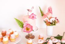 Flamingo Party / Lets flamingle! flamingo style theme party decorations and inspirations, plus food ideas for your tropical chick pink celebration.
