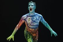 Body Painting (A Change of Pace)