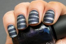nails / I am in cosmetology school and i am always learning new things  / by Samantha Reeder