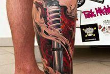 Tatuajes mecanicos