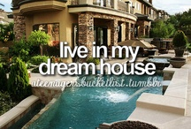 bucket list / these are all of the things I want to do:)
