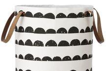 storage, baskets, bins / by Bethany Nauert