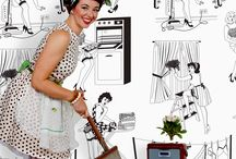 A women's work is never done! / House work