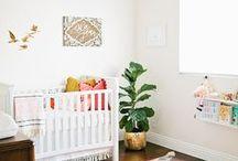 Nursery | Mama Bird Box / Beautiful Spaces for Baby