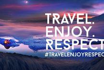 """#TravelEnjoyRespect / Il 4 dicembre 2015, l' ONU ha dichiarato il 2017 l'Anno Internazionale del Turismo Sostenibile per """"l'importanza del turismo internazionale, e in particolare, della designazione di un Anno Internazionale del Turismo Sostenibile per lo Sviluppo."""