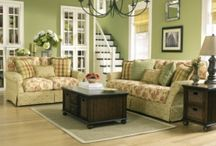 Sage green decor