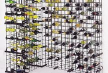 Mesh Wine Rack